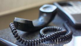 Трубка стационарного телефона