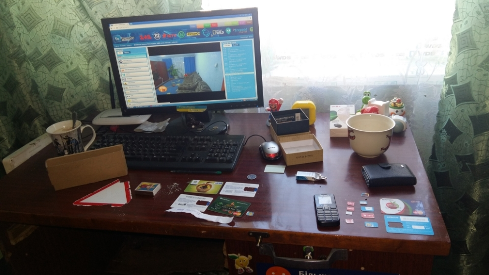 Украденные карты у мошенника